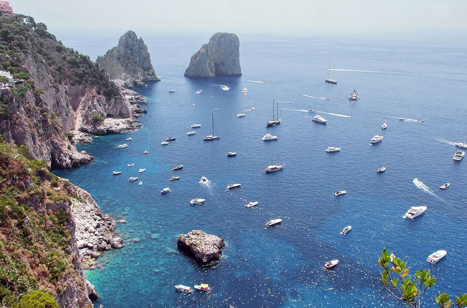 mare Napoli - Capri
